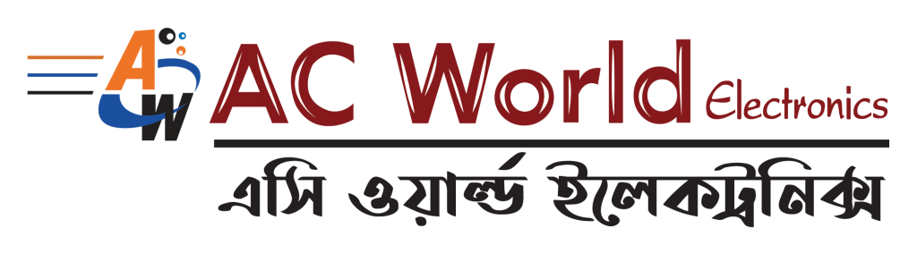 AC World Logo by Showcust Studio
