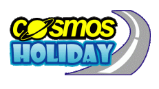 Cosmos Holiday Logo by Showcust Studio